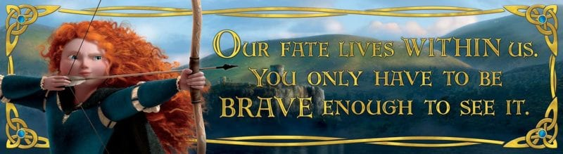 Eureka Brave, Classroom Banner, Our Fate Lives