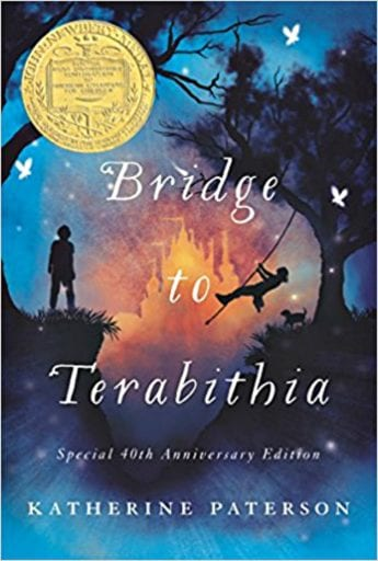 Briidge to Terebithia book cover