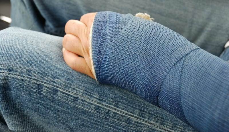 How a Broken Bone Gave Me New Compassion