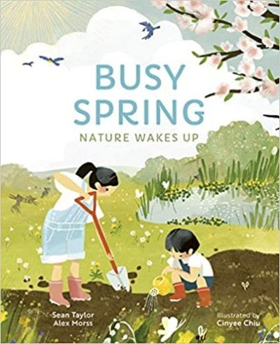Book Cover for Busy Spring :Nature Wakes Up