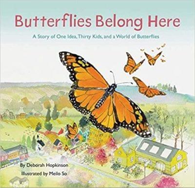 Butterflies belong here book cover