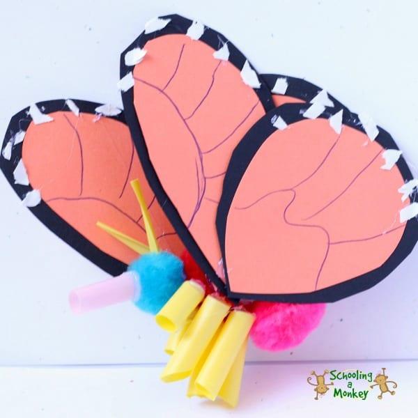 3-D monarch butterfly to showcase anatomy -- teaching STEAM