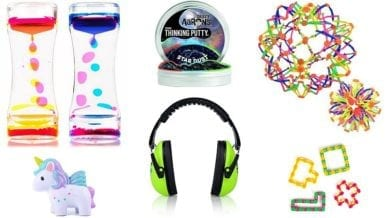 Calm down kit items