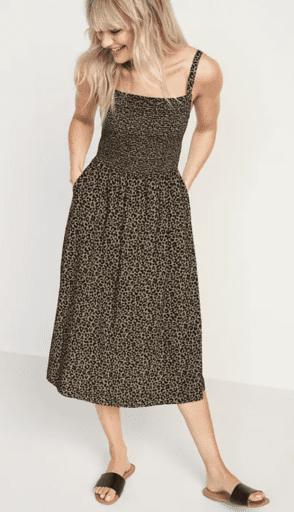 Cheetah cami dress