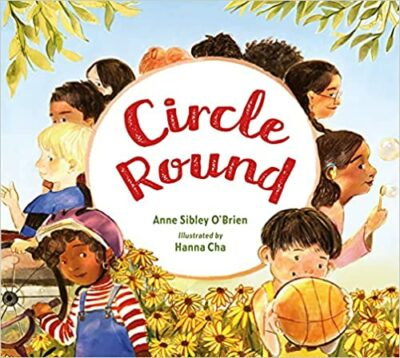 Book cover for Circle Round as an example of childrens books about friendship