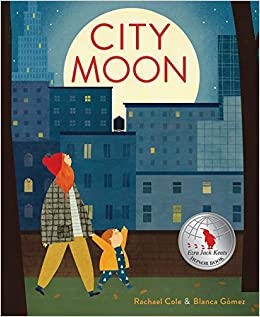 Book cover for City Moon as an example of mentor texts for narrative writing