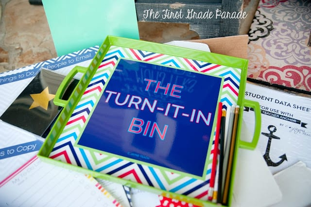10 Creative Ways to Organize Your Classroom Turn-In Bin