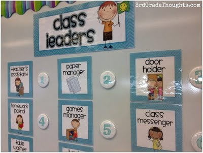 38 Flexible, Fun, and Free Classroom Job Charts - WeAreTeachers