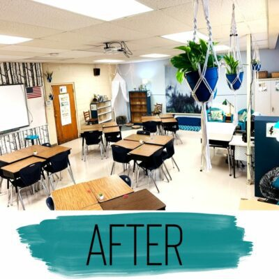 Classroom after photo nature theme