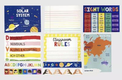 Classroom bulletin board set