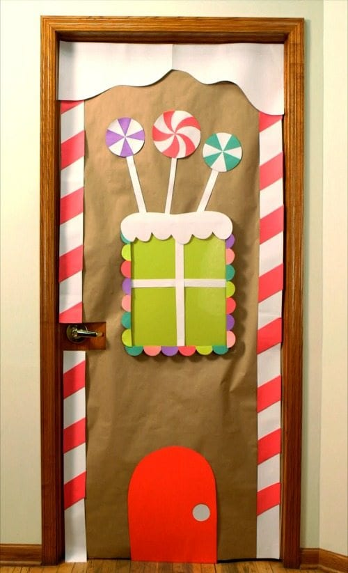 Classroom Doors for Winter and the Holidays