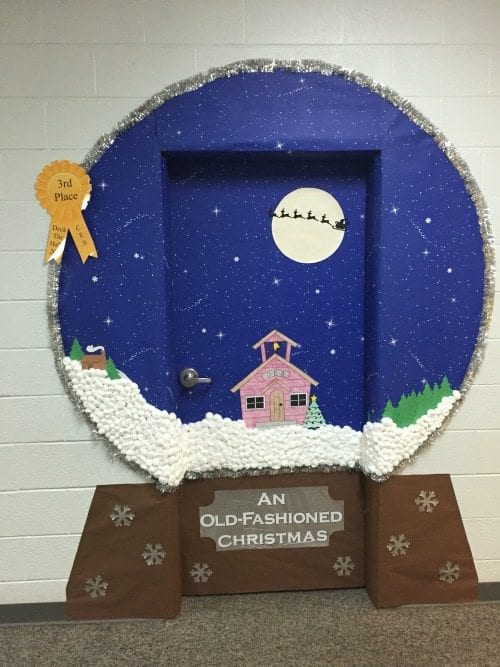 Ideas Of Classroom Decoration ~ Amazing classroom doors for winter and the holidays