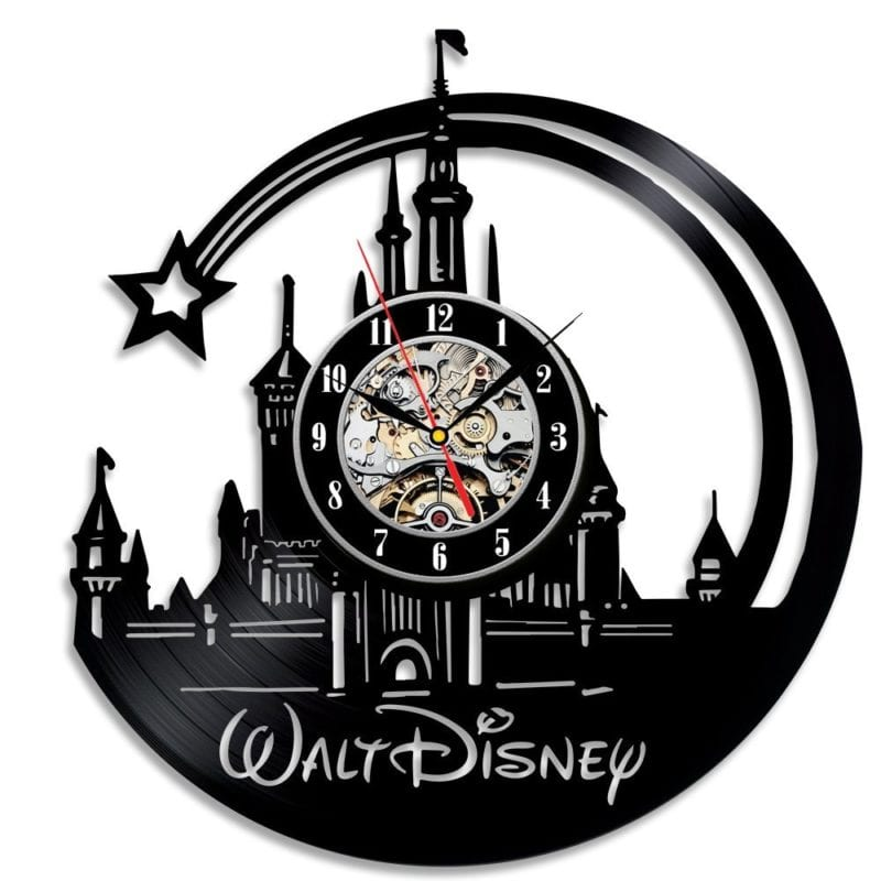 Walt Disney Beautiful Vinyl Wall Clock