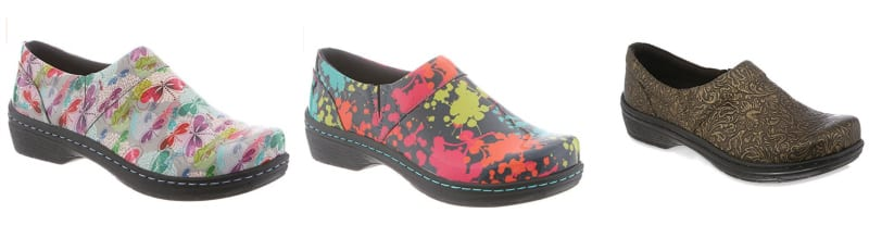 Klogs shoes in several patterns and colors (Teacher Shoes)