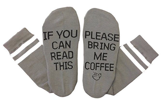 Products for coffee lovers - coffee socks