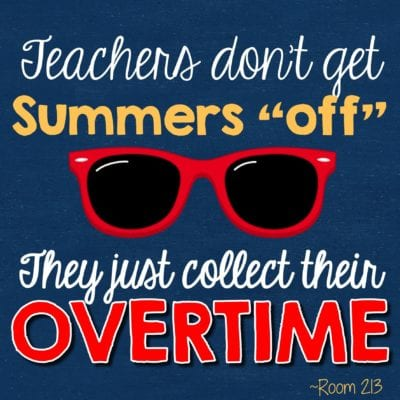 When this truth is told ... summer teaching meme
