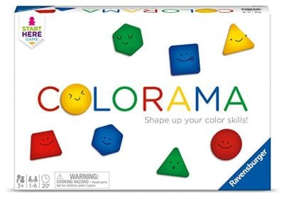 Best board games for preschoolers - Colorama