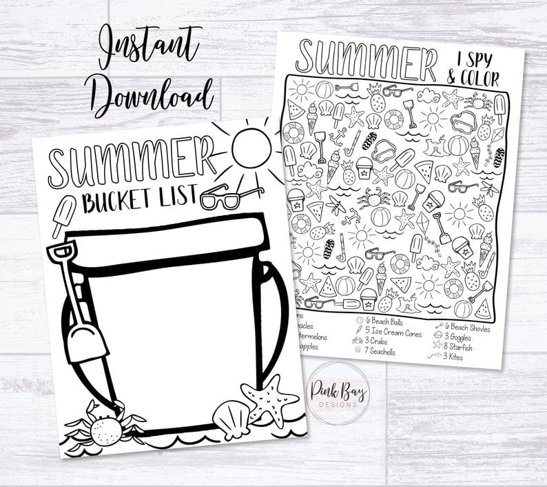 Printable download - inexpensive gift ideas for students