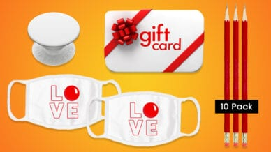Win a $1,000 Gift Card and Red Nose Day Prize Package to Celebrate Teachers