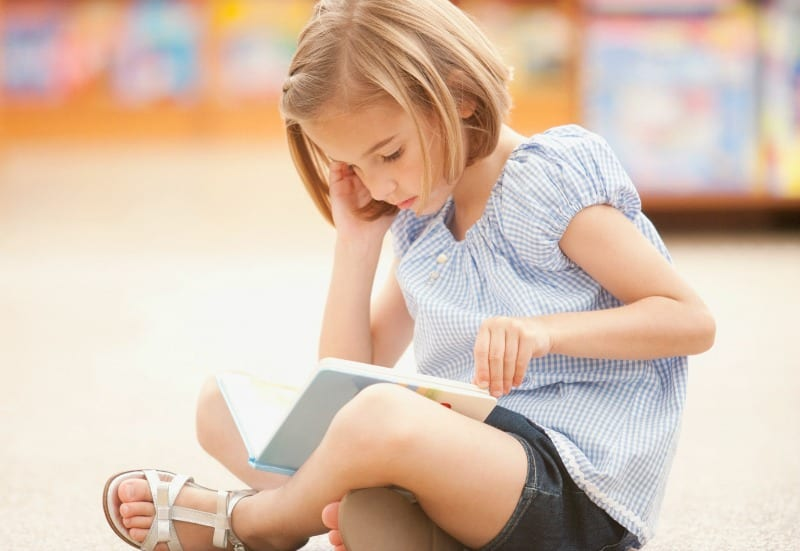 Girl Reading - Programming for Kids