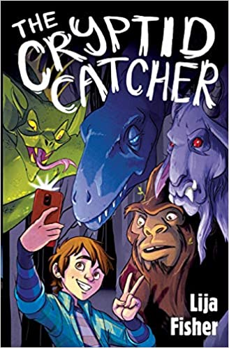 Book cover for The Cryptid Catcher
