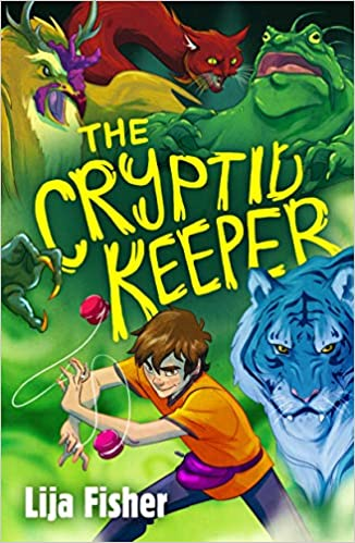 Book cover for The Cryptid Keeper