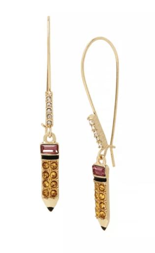 Pencil Dangle Earrings