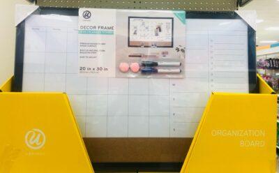 Decor framed 4-in-1 planner board from Target