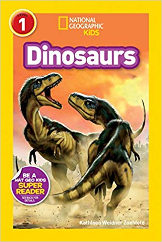 Book cover for National Geographic Kids Dinosaurs