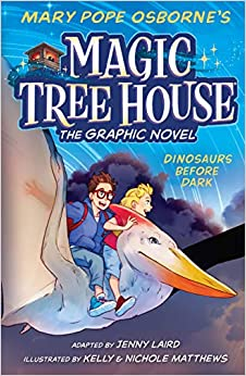 Book cover for Magic Tree House Graphic Novel book 1 as an example of graphic novels for kids