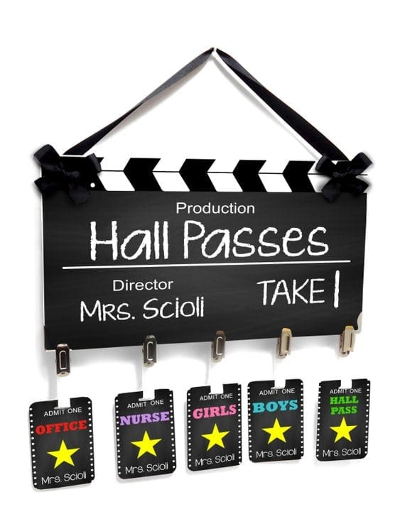 Hall Pass Ideas You Ll Want To Steal For Your Classroom