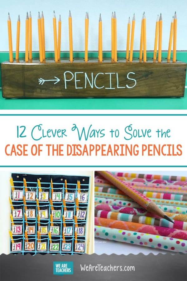 12 Clever Ways to Solve the Case of the Disappearing Pencils