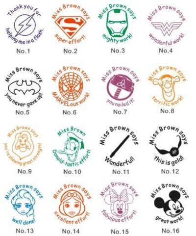 picture relating to Printable Passport Stamps for Kids called The Ideal Trainer Stamps in the direction of Crank out Grading and Clroom Lifetime