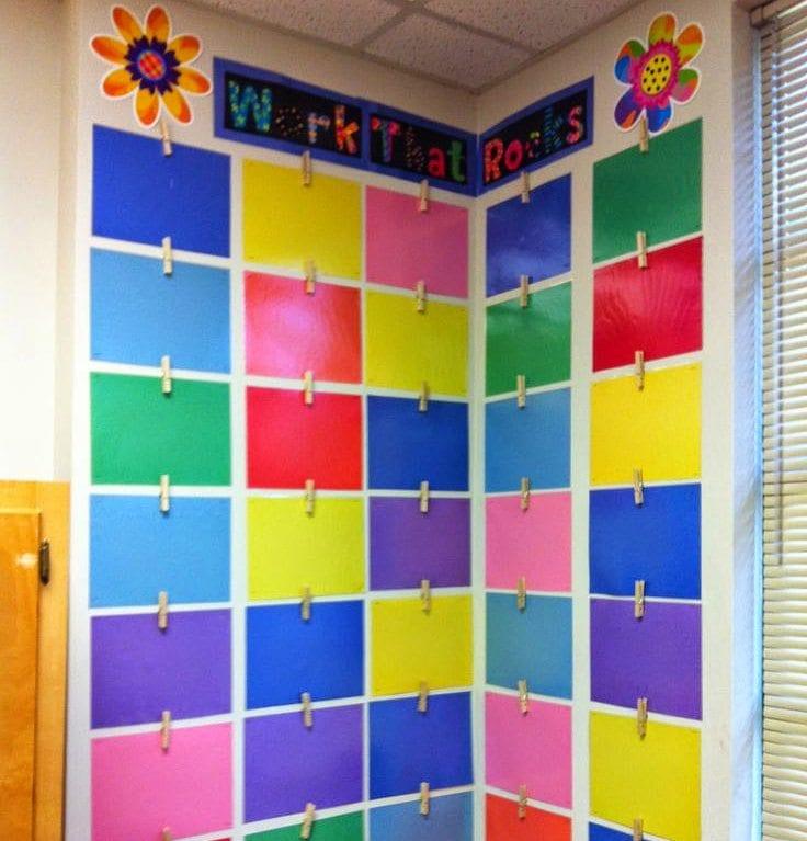 Classroom Design Ideas For Preschool: How Teachers Can Conquer Their Cement Classroom Walls