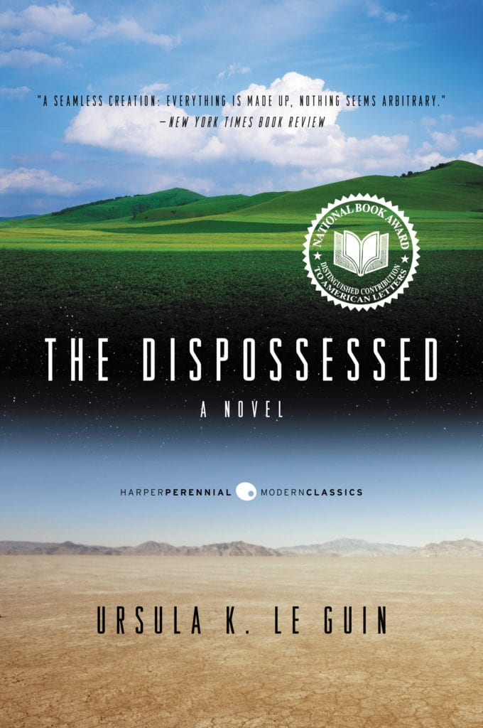 Book Cover: The Dispossessed - High School Literature