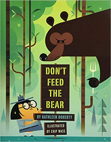 Book cover for Don't Feed the Bear as an example of opinion writing mentor texts