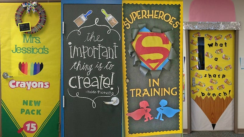 When it comes to classroom doors some schools go crazy with decorationsu2014and others are forbidden to do so by the fire marshall. If you fall into the former ... & 35 Awesome Classroom Doors For Back-To-School