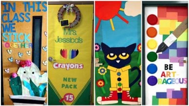 Classroom Doors for Back-to-School