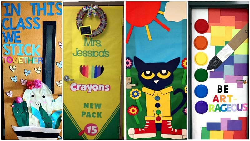 65 Awesome Classroom Doors For