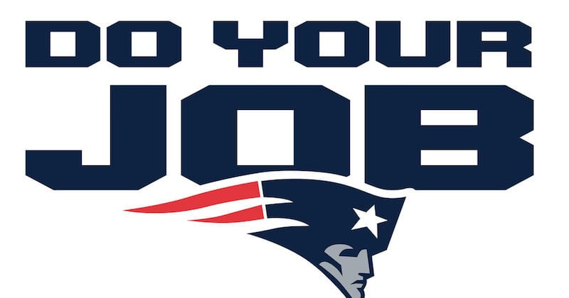 Do Your Job - How Teachers Are Like the Greatest NFL Team