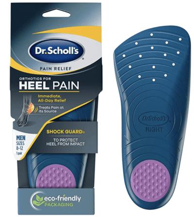Dr. Scholl's Heel Pain Relief Orthotics shoe inserts