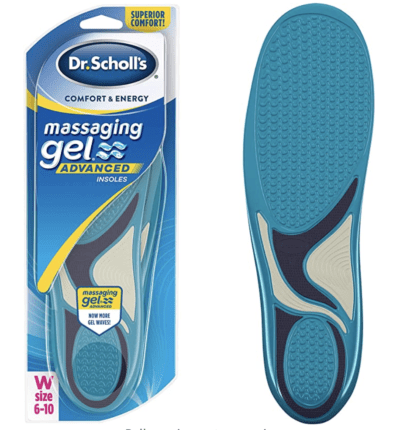 Dr. Scholl's Massaging Gel Advanced Insoles All-Day Comfort