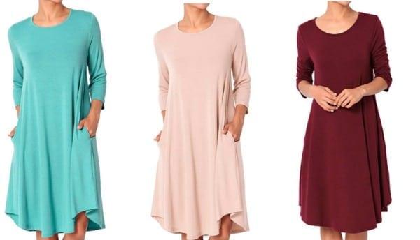 Casual dresses for teachers - swing dresses
