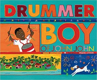 Book cover for Drummer Boy of John John