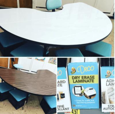 Dry erase desks
