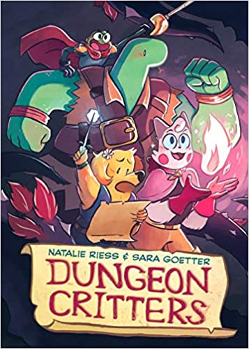 Book cover Dungeon Critters