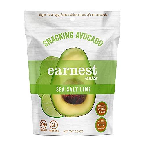 Earnest Eats Deniz Tuzu ve Misket Limonu Atıştırmalık Avokado, ruh halini yükselten yiyeceklere örnek olarak gösteriliyor