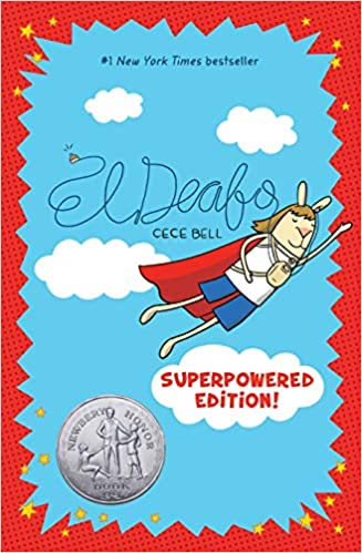Book cover for El Deafo Superpowered Edition