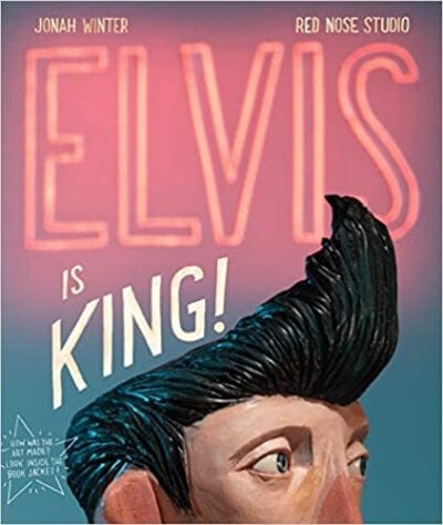 Book cover for Elvis is King!