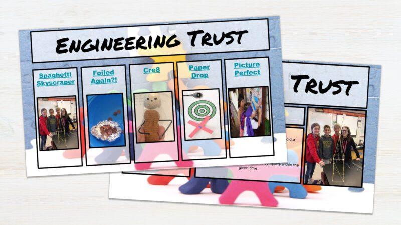 Screenshot of Engineering Trust mini-lesson